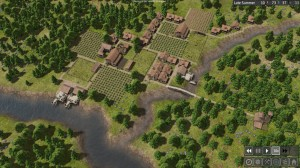 A Town!