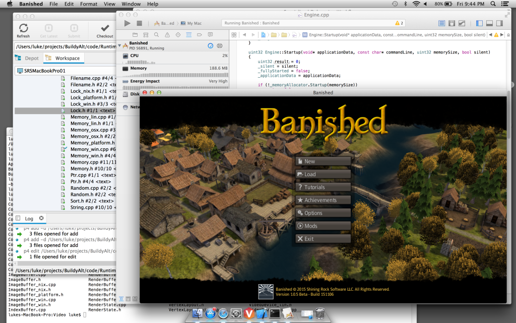 Banished on OSX